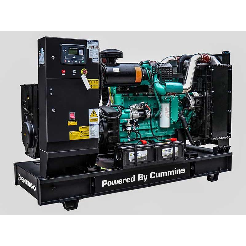 Дизельный генератор Energo (AGG Power) AD 600-T400 C (мощностью 480 кВт)