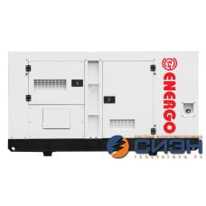 Дизельный генератор Energo (AGG Power) AD 100-T400-S (в кожухе)