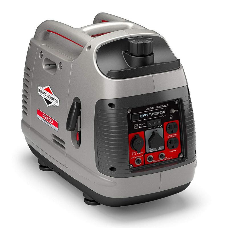 Бензиновый генератор Briggs & Stratton P 2200 PowerSmart в кожухе (мощностью 1,7 кВт)