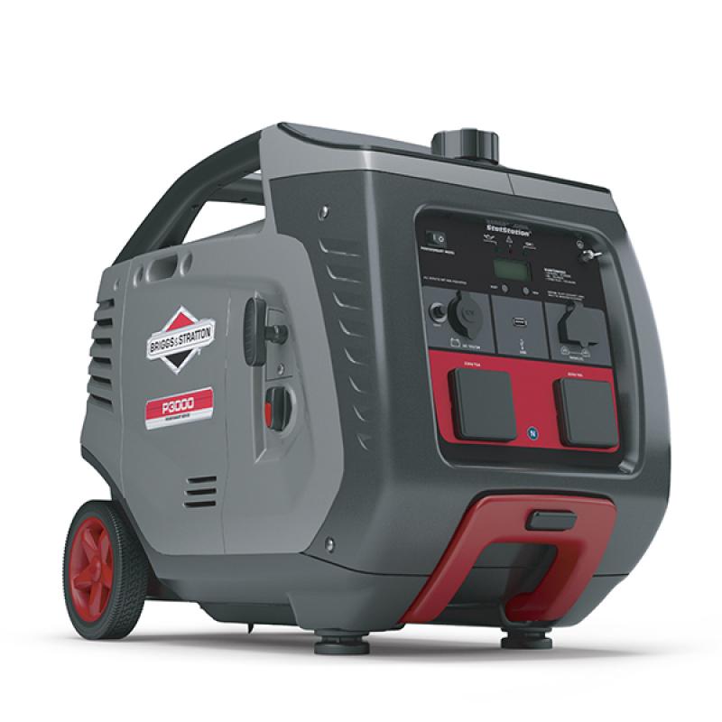 Бензиновый генератор Briggs & Stratton P 3000 Inverter в кожухе (мощностью 2,6 кВт)