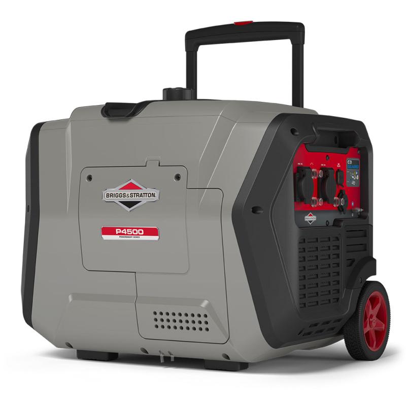 Бензиновый генератор Briggs & Stratton P 4500 Inverter в кожухе (мощностью 3,7 кВт)