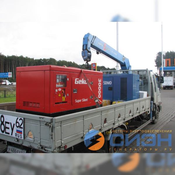 Доставка дизельных генераторов Energo и SDMO
