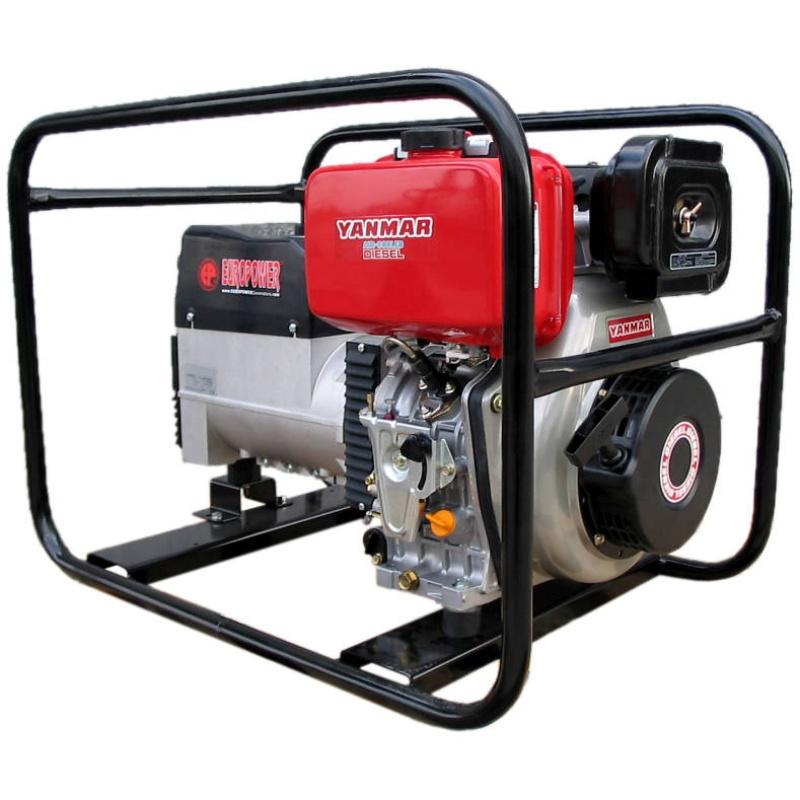 Дизельный сварочный генератор Europower EP 180 DX2E DC (мощностью 4 кВт)