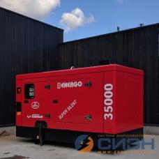 Дизельный генератор Energo (Genelec) ED 35/400 Y SS (в кожухе)