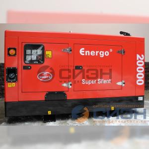 Дизельный генератор Energo (Genelec) ED 20/400 Y SS (в кожухе)