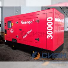 Дизельный генератор Energo (Genelec) ED 30/230 Y SS (в кожухе)