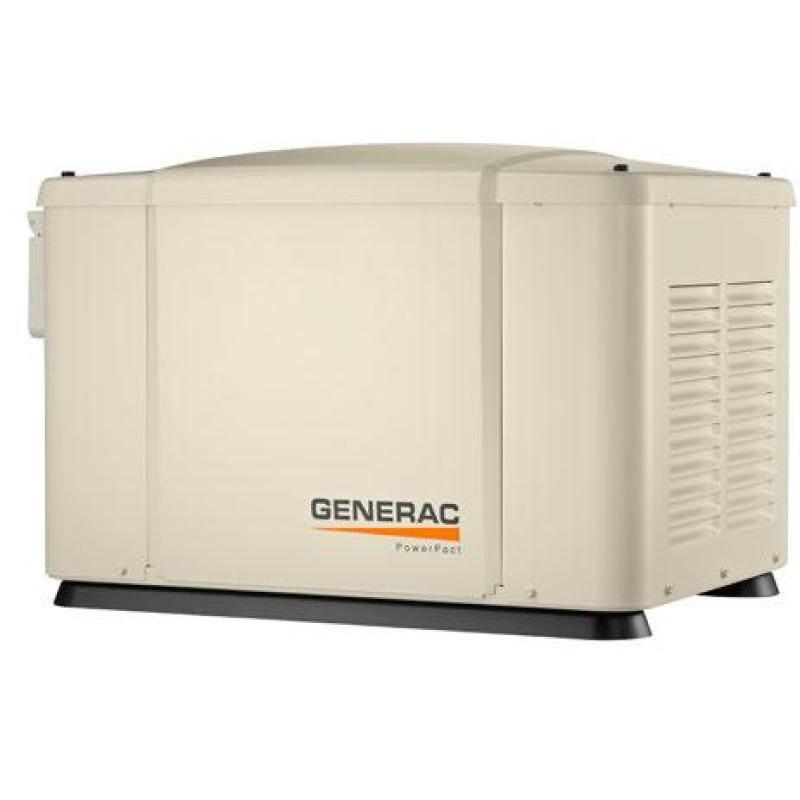 Газовый генератор Generac 6520 в шумозащитном кожухе