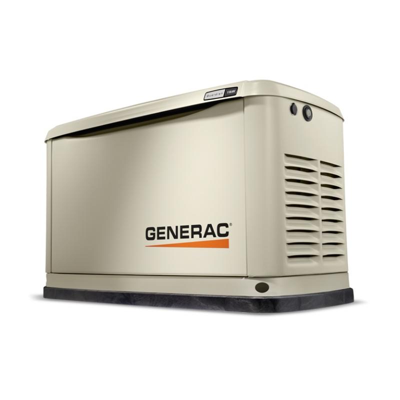 Газовый генератор Generac 7078 в шумозащитном кожухе