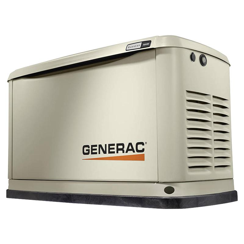 Газовый генератор Generac 7145 в шумозащитном кожухе