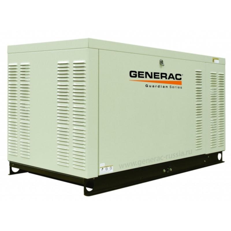 Газовый генератор Generac QT 027 3P в шумозащитном кожухе