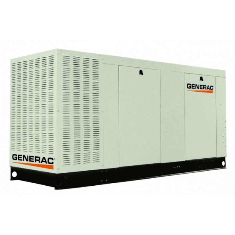 Газовый генератор Generac QT 070 в шумозащитном кожухе
