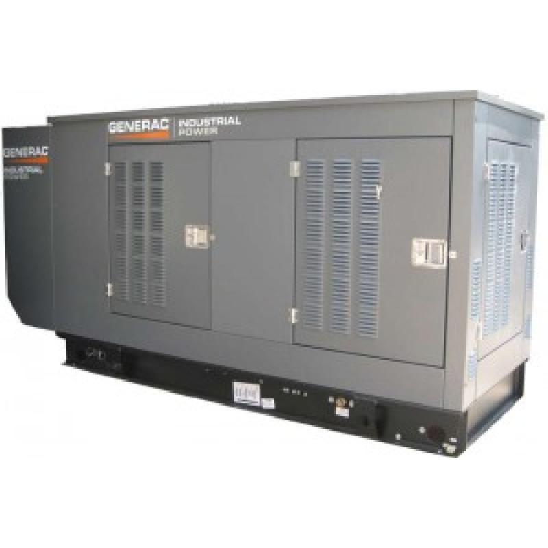 Газовый генератор Generac SG 035 в шумозащитном кожухе