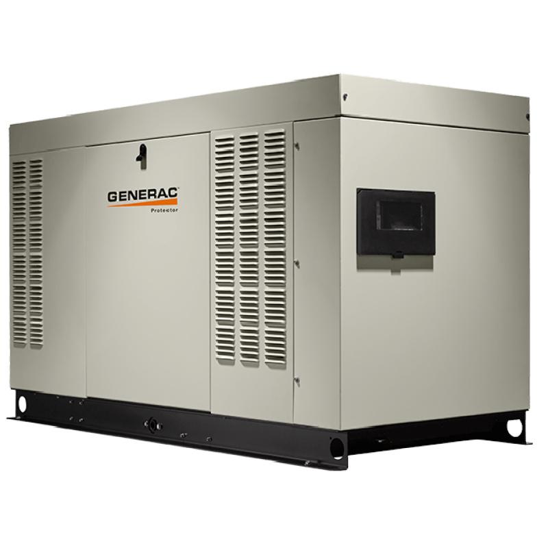 Газовый генератор Generac RG 027 3P в шумозащитном кожухе
