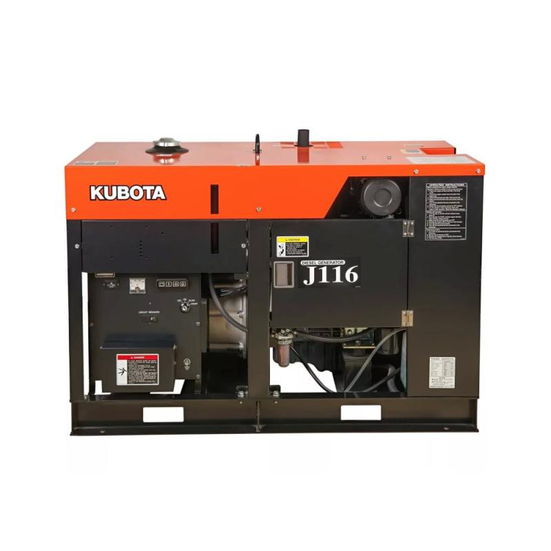 Дизельный генератор Kubota J116 (мощностью 16 кВт)