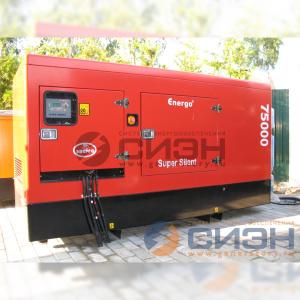 Монтаж дизельного генератора Energo (Genelec) ED 75/400 IV S и АВР Tecno Elettra