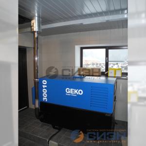 Монтаж дизельного генератора Geko 30010 ED-S/DEDA SS с АВР