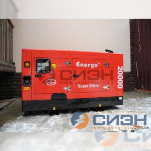 Монтаж дизельного генератора Energo (Genelec) ED 20/400 Y SS (частный дом)