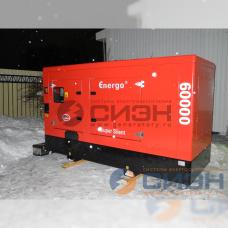 Дизельный генератор Energo (Genelec) ED 60/400 IV S (в кожухе)