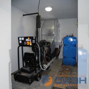 Монтаж дизельного генератора Energo (Genelec) ED 20/400 Y в помещении (аварийное электроснабжение частного дома)