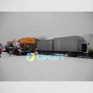 Монтаж дизельных генераторов Geko мощностью 380 и 500 кВА в контейнерном исполнении