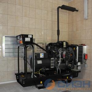 Монтаж дизельного генератора Energo (Genelec) ED 20/230 Y и АВР