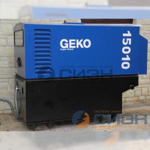 Монтаж дизельного генератора Geko 15010 ED-S/MEDA SS с АВР