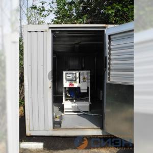 Монтаж дизельного генератора FG Wilson P150E в антивандальном контейнере