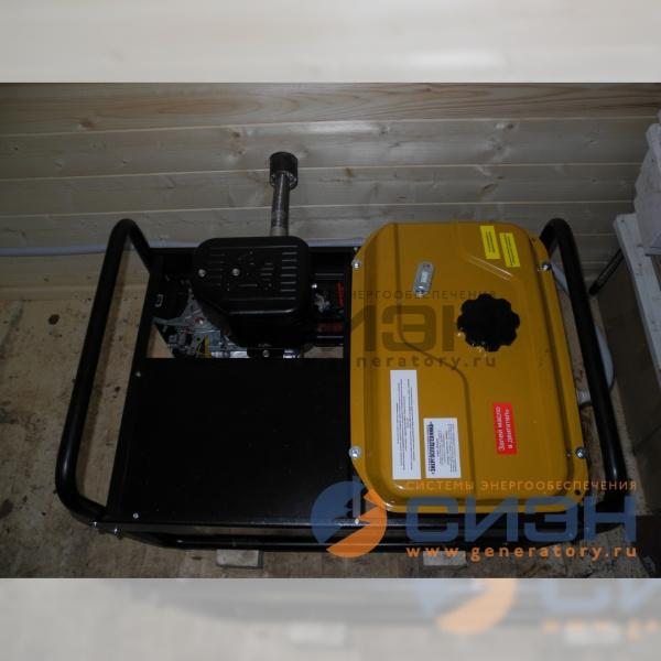 Монтаж бензогенератора Energo EB 7.0/230-SLE
