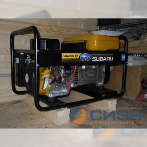 Монтаж бензогенератора Energo EB 7.0/230-SLE для питания инвертора