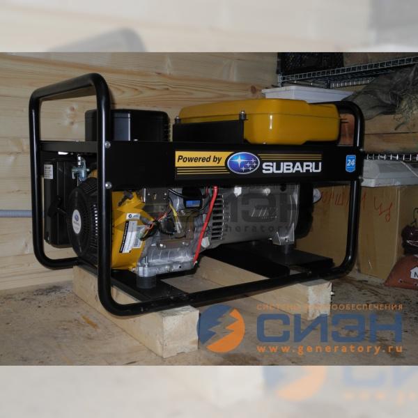 Монтаж бензинового генератора Energo EB 7.0/230-SLE