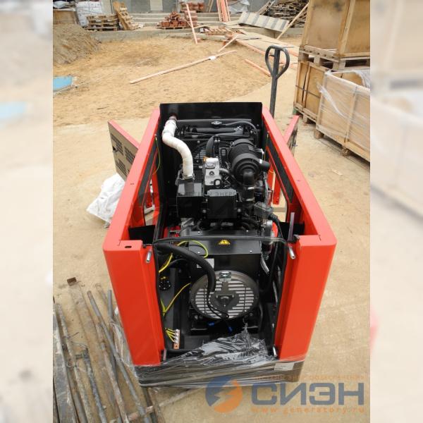 Разборка дизельного генератора Genelec (Energo) ED 13/230 Y SS