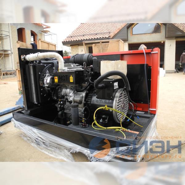 Демонтаж капота дизельного генератора Genelec (Energo) ED 13/230 Y SS