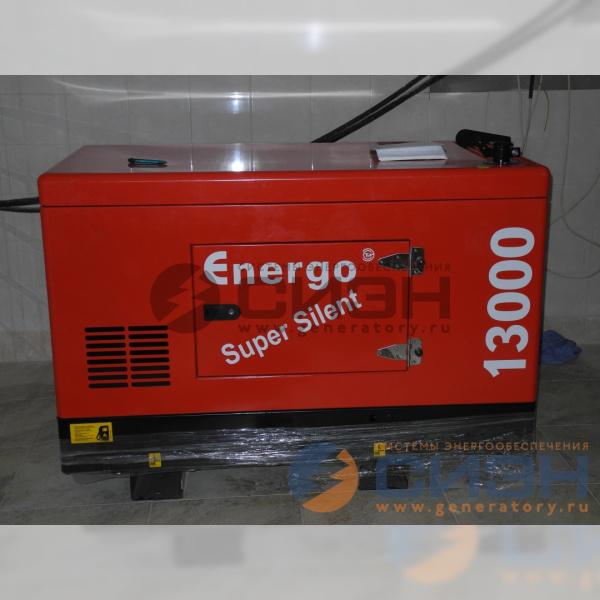 Сборка дизельного генератора Genelec (Energo) ED 13/230 Y SS