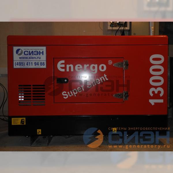 Монтаж дизельного генератора Genelec (Energo) ED 13/230 Y SS