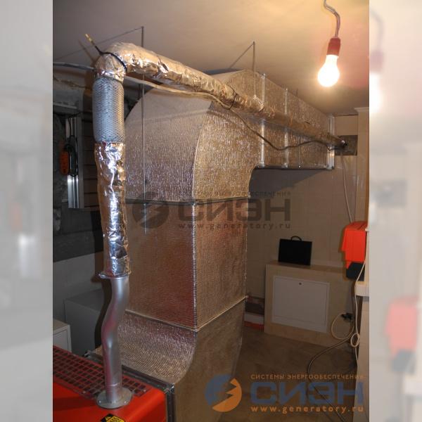 Вентиляция и выхлоп ДГУ Genelec (Energo) ED 13/230 Y SS