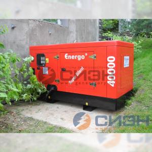 Монтаж дизельного генератора Energo (Genelec) ED 40/400 Y SS с АВР