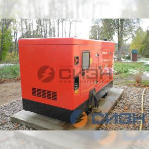 Монтаж дизельного генератора Energo (Genelec) ED 35/400 Y SS на церковном хоздворе
