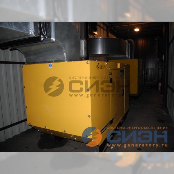 Монтаж дизельного генератора Aksa APD 33A