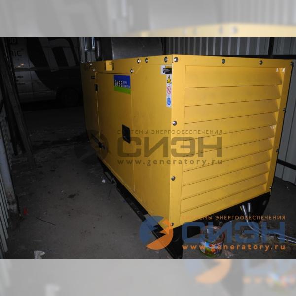 Монтаж в техническом помещении ДГУ Aksa APD 33A