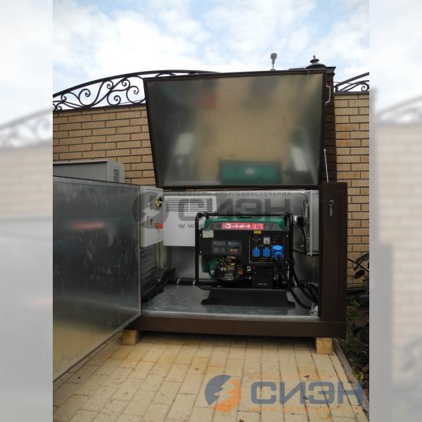 Бензиновый генератор Grandvolt GV8500 в контейнере