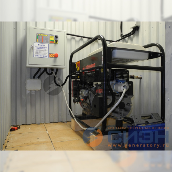 Автоматика запуска для бензогенератора Europower EP 7000 LE