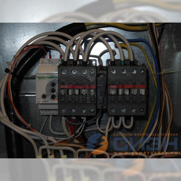 Силовые реверсивные контакторы ABB для автоматики запуска бензогенератора Europower