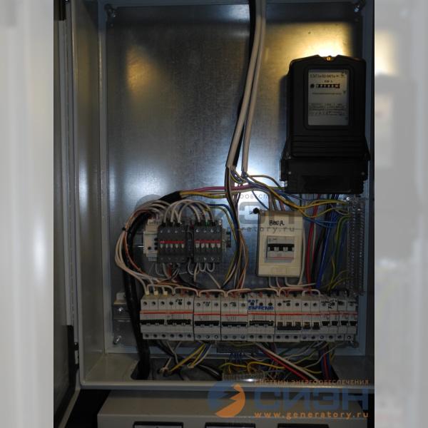 Силовые реверсивные контакторы ABB в щите заказчика.