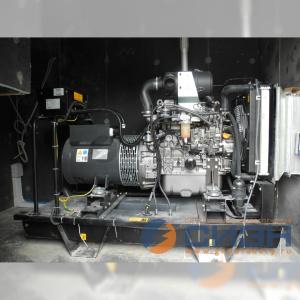 Монтаж дизельного генератора Energo (Genelec) ED 35/400 Y в помещении (частный дом)
