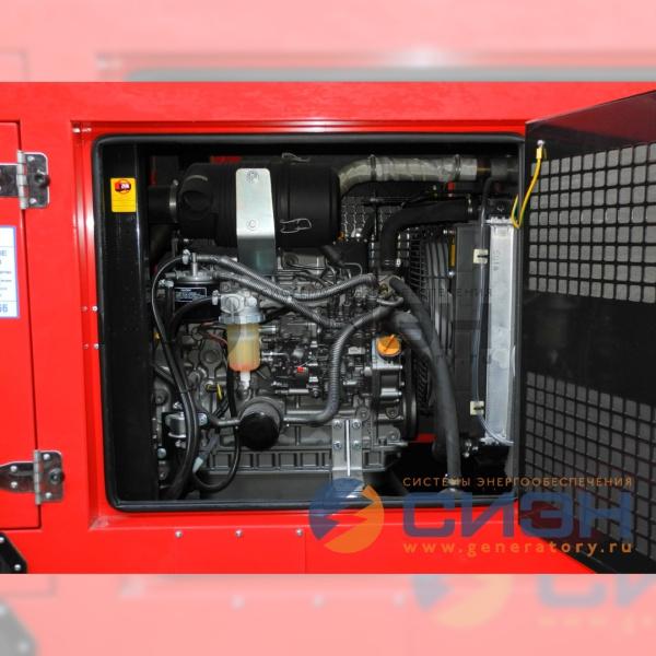 Двигатель Yanmar (Япония) на дизельном генераторе Energo (Genelec) ED 20/400 Y SS