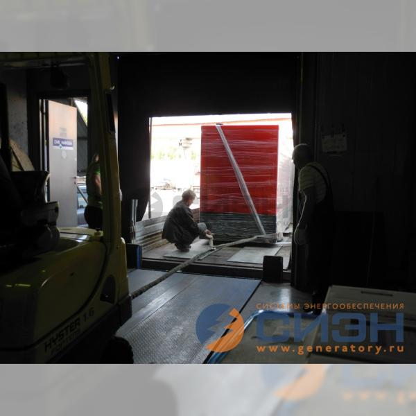 Выгрузка и транспортировка к месту монтажа ДГУ Energo ED 280/400 D S