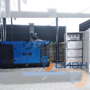 Монтаж дизельного генератора ТСС АД12-230 (TTd 14 TS ST-2) в кожухе (частный дом)