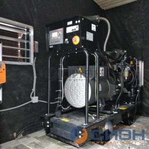 Монтаж дизельного генератора Energo (Genelec) ED 25/230 Y в помещении (аварийное электроснабжение частного дома)