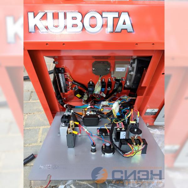 Панель управления дизельного генератора Kubota GL9000