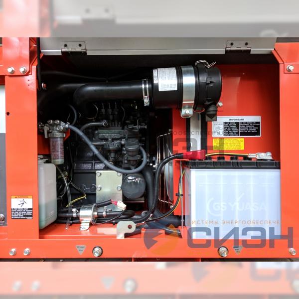 Двигатель дизельного генератора Kubota GL9000